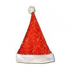 Шапка Деда Мороза с подсветкой штучно
