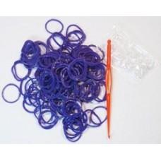 """Резинки Loom Bands """"Фиолет"""",200шт"""