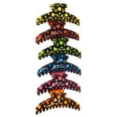 """Краб для волос,цветной """" E/233 """""""