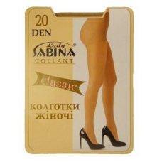 """Колготы женские """"Lady Sabina"""" 20 den classik"""