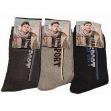 """Махровые мужские носки """" Корона """" 6073"""