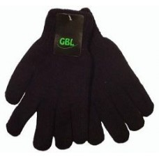 """Перчатки мужские, черные """" GBL """" штучно"""