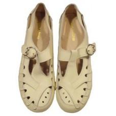 "Мокасины летние "" Zojas Shoes "" А-822 Beige штучно"