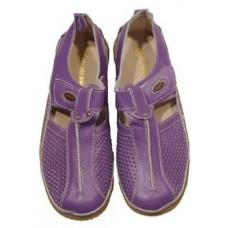 "Мокасины летние "" Zojas Shoes "" А-99085 Purple штучно"