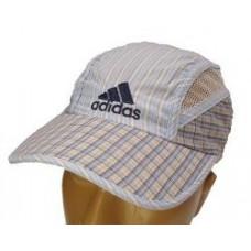 """Кепка """" Adidas """"клетка с сеточкой"""