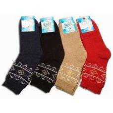 """Махровые женские носки """" Люкс """" KVR, микс"""