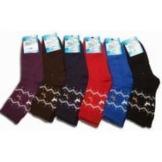 """Махровые женские носки """" Люкс """" OLN, микс"""